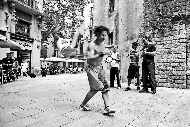 Ask a Toddler - Capoeira